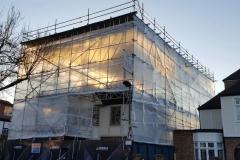 Scaffolding project in London