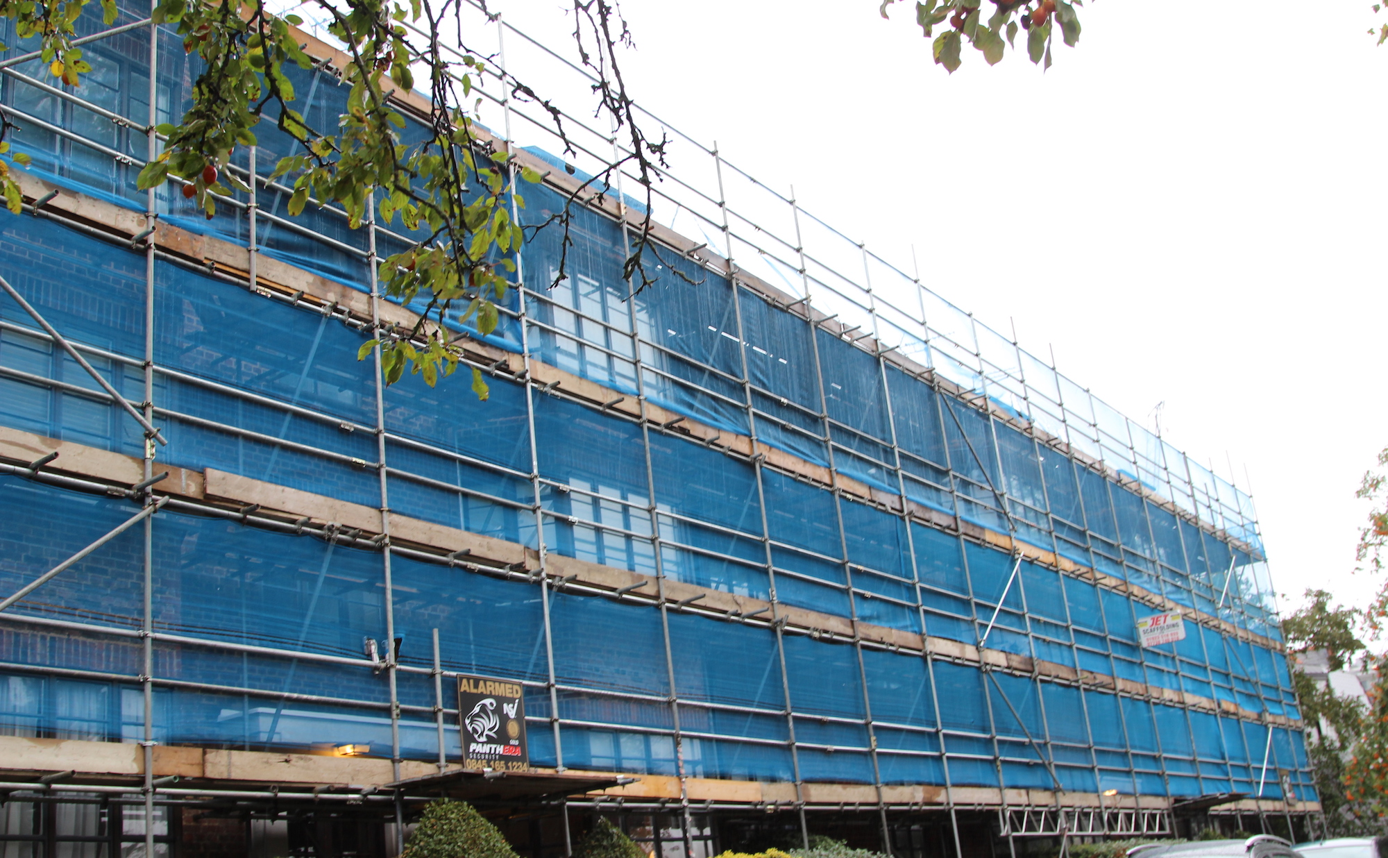 jet scaffolding in london